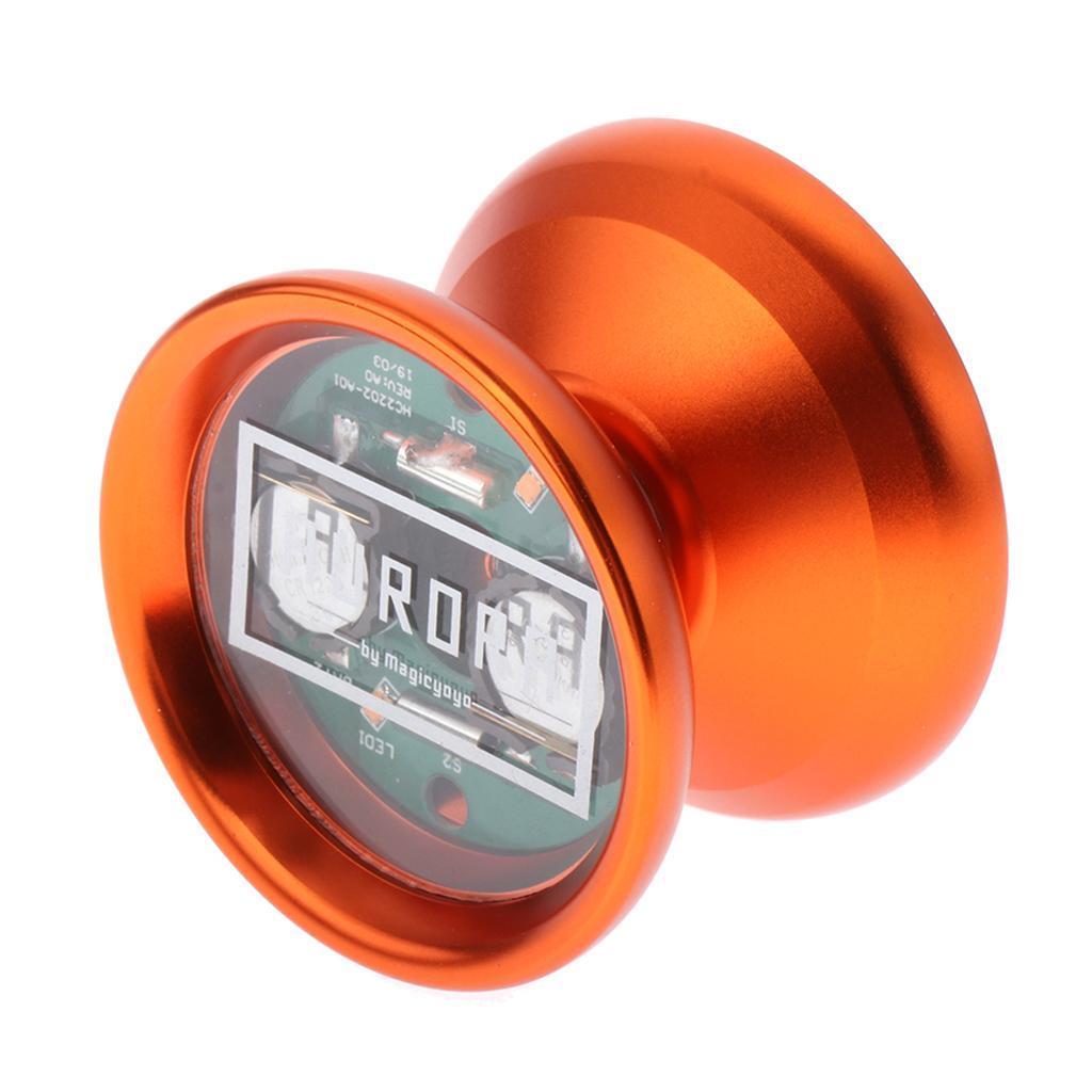 1pc-LED-Yoyo-Professional-Magic-Trick-Cool-Lighting-Yoyo-Kid-Collectors-Toy thumbnail 7