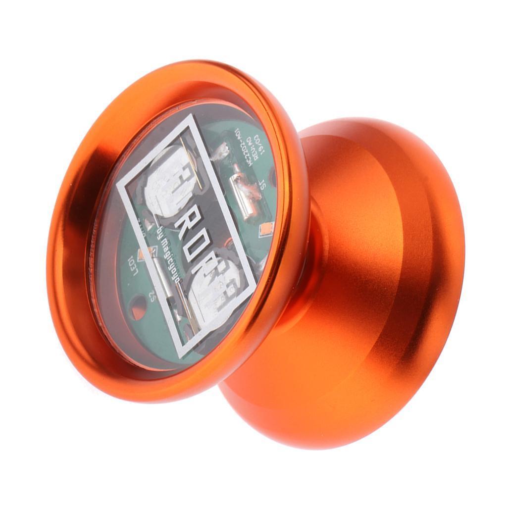 1pc-LED-Yoyo-Professional-Magic-Trick-Cool-Lighting-Yoyo-Kid-Collectors-Toy thumbnail 10