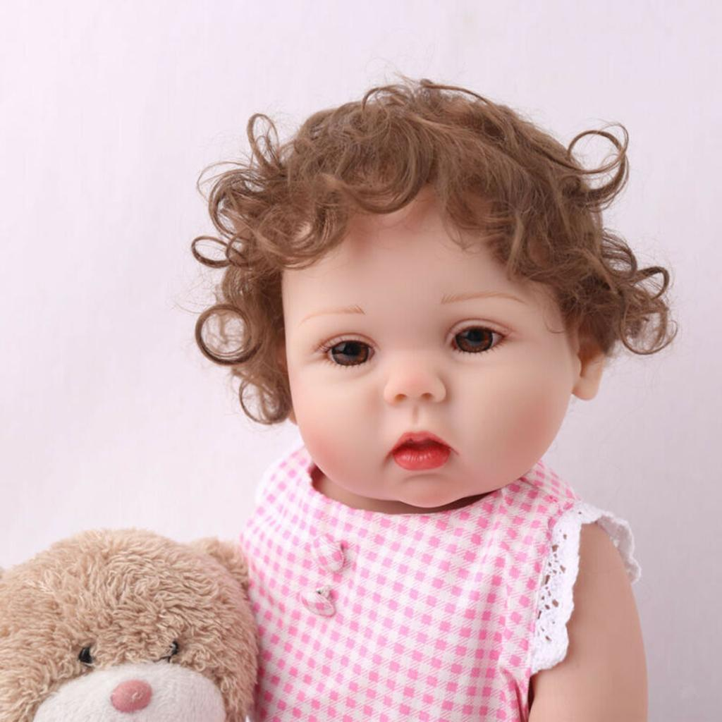 19-inch-Realistic-Babies-Dolls-Girls-Soft-Vinyl-Silicone-Kids-Gifts-Age-3 thumbnail 22