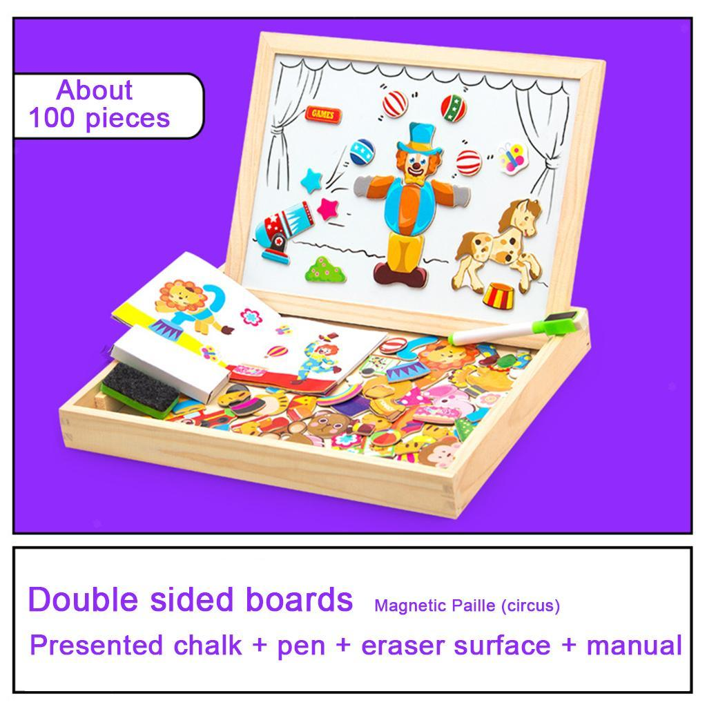 thumbnail 30 - Educational Magnetic Drawing Board 3D Puzzles Drawing Toys Halloween Gift