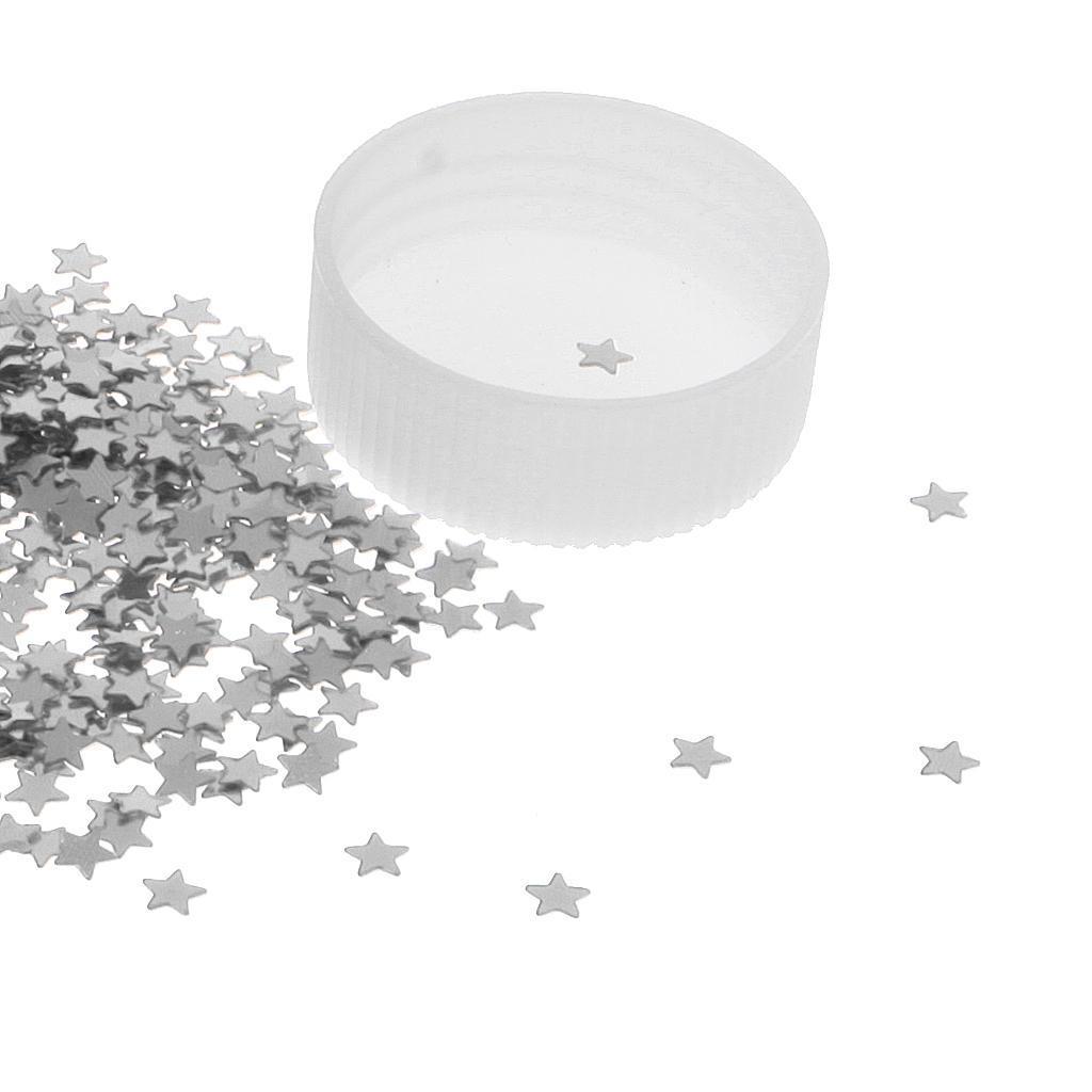 Metallic-Star-Heart-Balloon-Confetti-Wedding-Table-Scatter-Decor-Gold-Silver-Red miniature 7