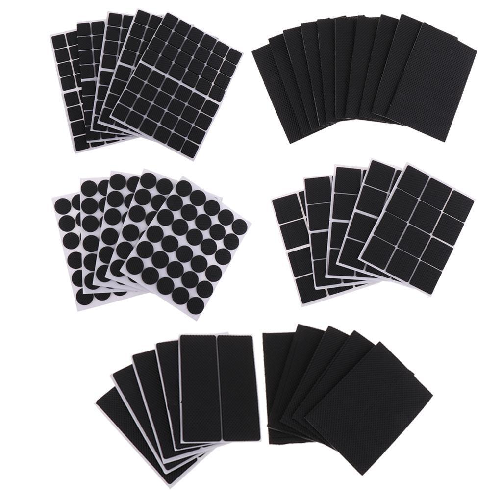 5-Blatt-Selbstklebende-Filz-Stick-Auf-Pads-Boden-Arbeitsplatte-Tisch Indexbild 3