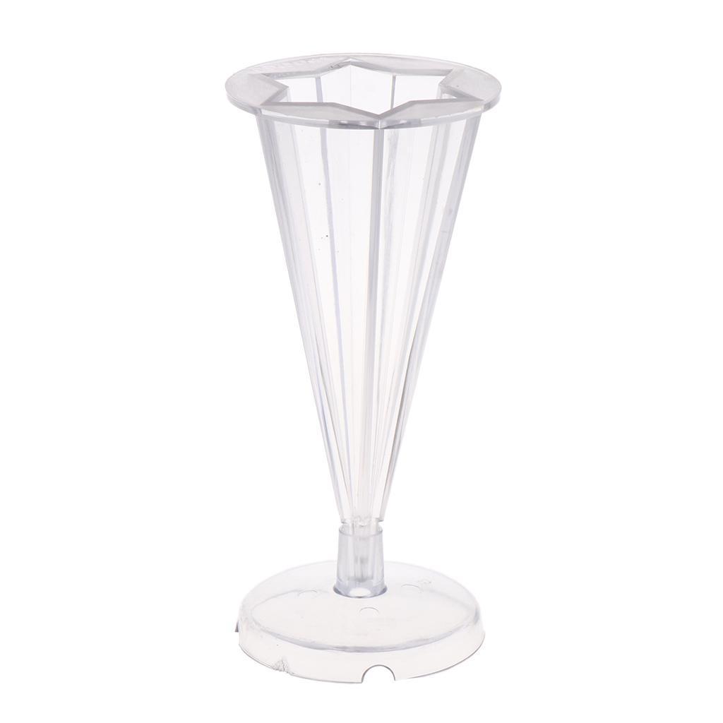 Plastikflach runde Form Kerzenform Seifenform für Kerzenherstellung