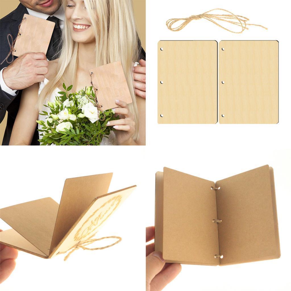 Indexbild 53 - Holz-Stueck-Holz-Tags-Zeichen-Unfinished-Hochzeit-Party-Favor-Geschenke-DIY