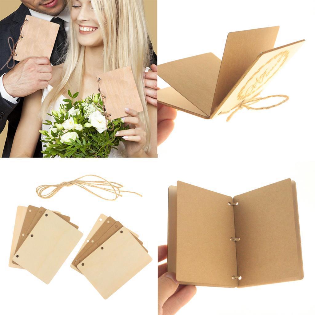 Indexbild 54 - Holz-Stueck-Holz-Tags-Zeichen-Unfinished-Hochzeit-Party-Favor-Geschenke-DIY