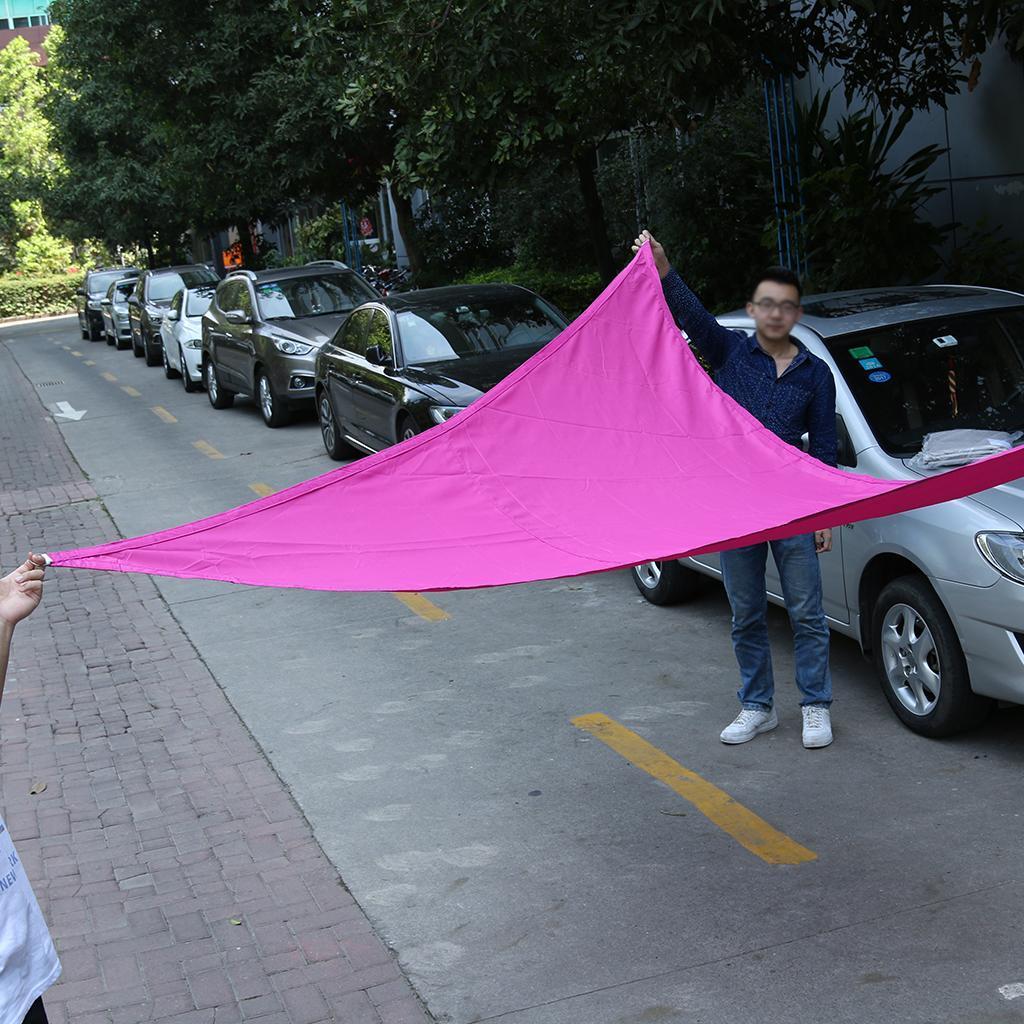 Triangle Sun Shade Sail Garden Patio Awning Canopy UV ...