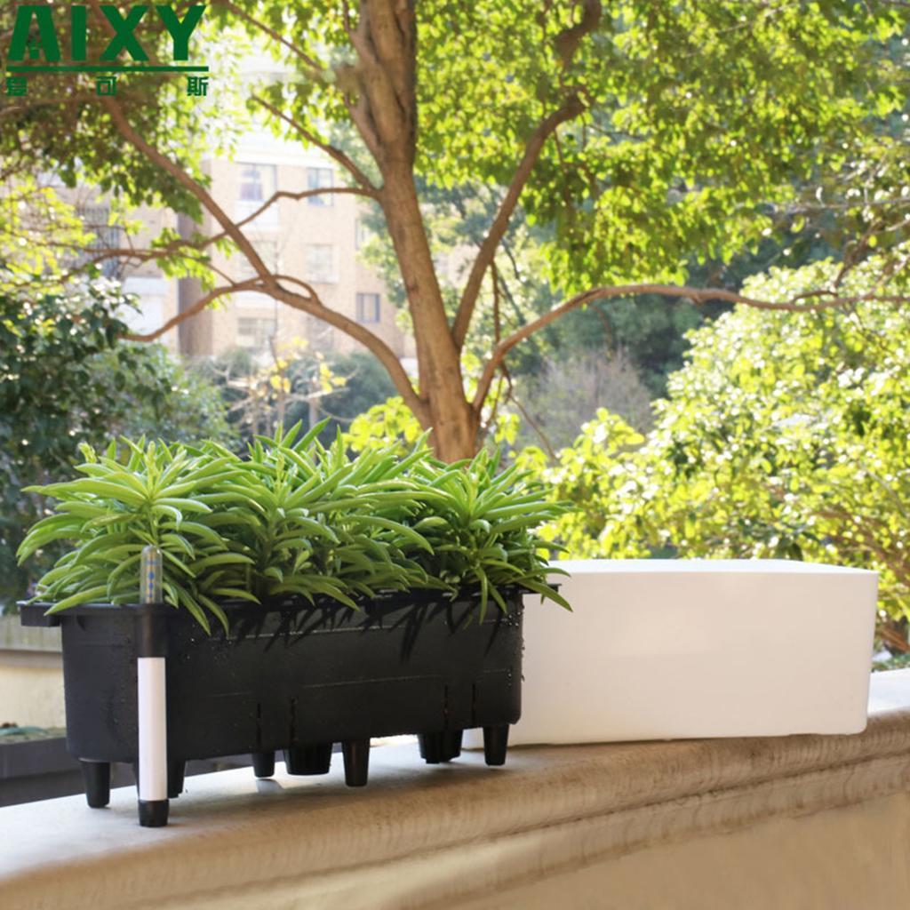 15 Long Self Watering Plant Flower Pot Houseplant Amp Herb