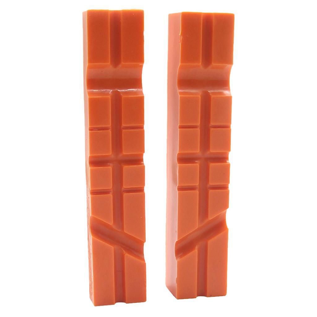 2pcs-Set-Magnetico-Morsa-Mascella-Pad-Covers-Protezioni-Multi-Scanalato-Morbido miniatura 8