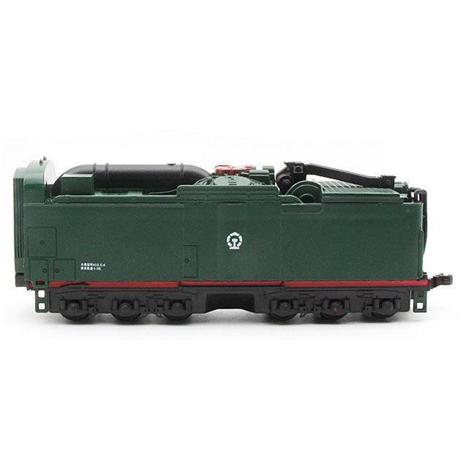 miniature 13 - Train à vapeur jouet Diecast Locomotive reculer le son lumière modèle de voit