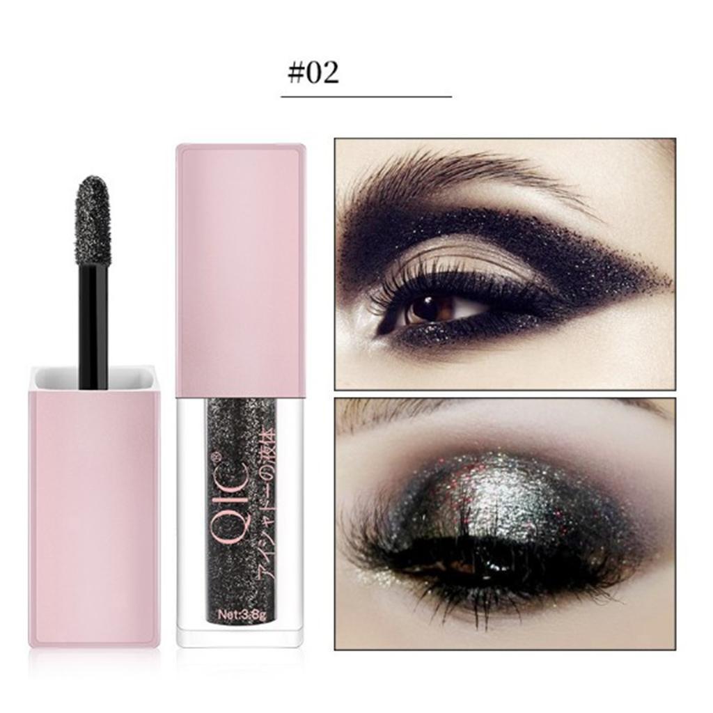 Metallic Glitter Liquid Eyeshadow Long Wearing Eye Shadow