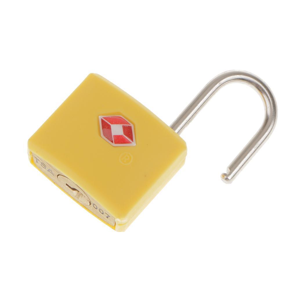 miniatura 10 - Robusto lucchetto di sicurezza TSA per valigia da viaggio con 2 chiavi