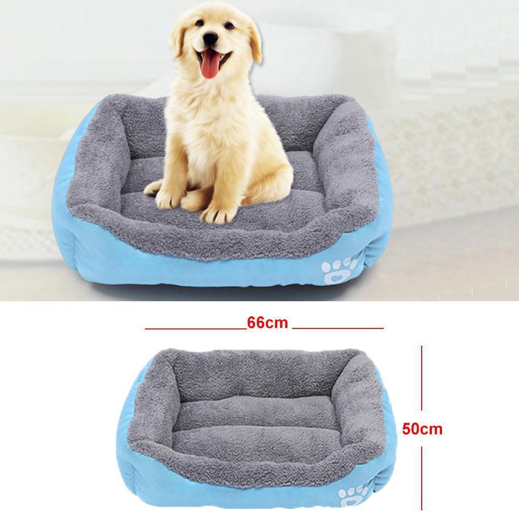 miniature 7 - Doux en peluche lit pour animaux de compagnie chien chat coussin de couchage