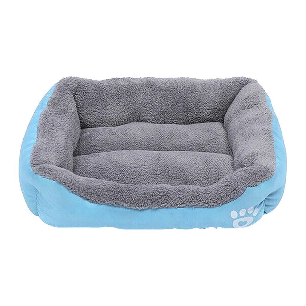 miniature 6 - Doux en peluche lit pour animaux de compagnie chien chat coussin de couchage