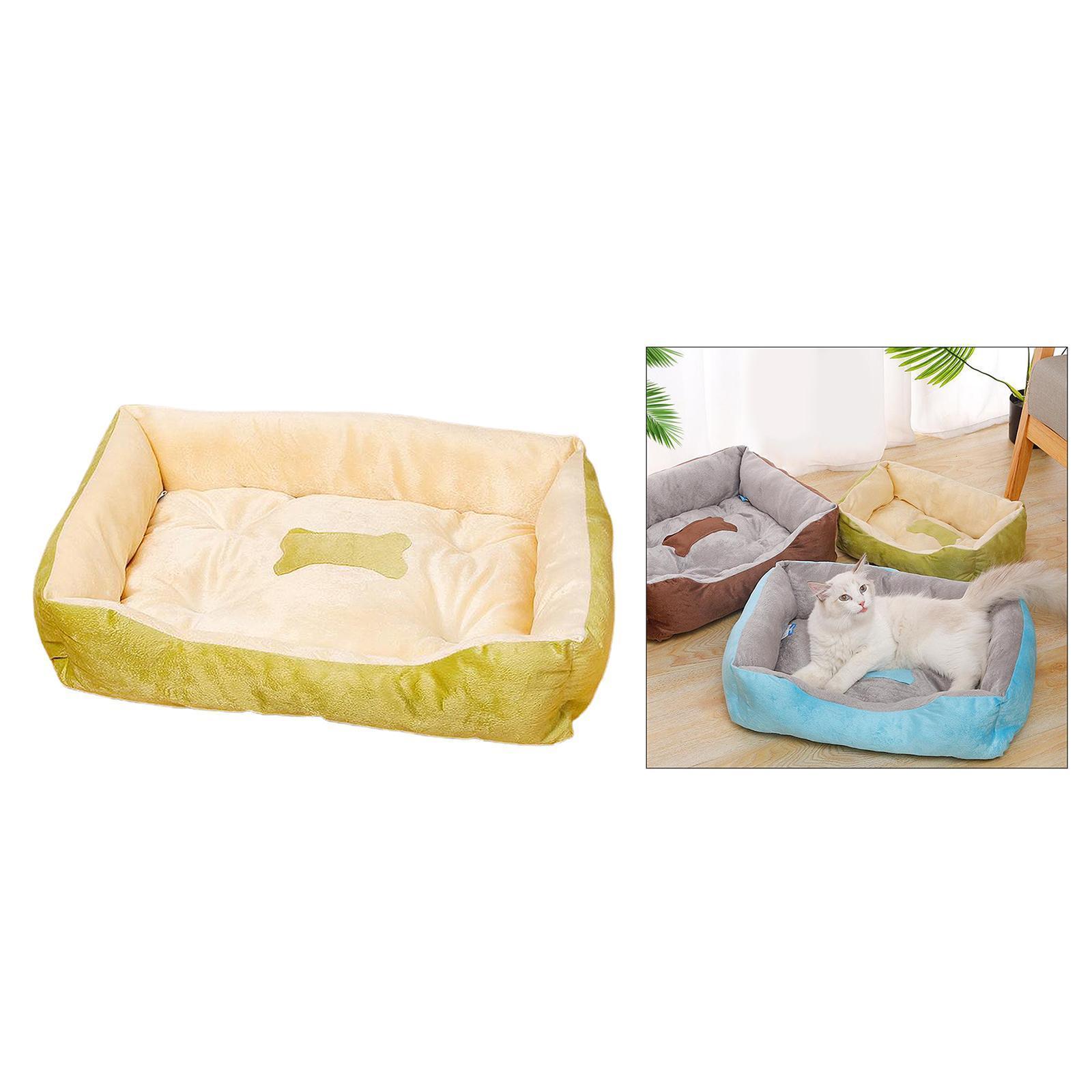 Indexbild 4 - Katze-Hund-Bett-Pet-Kissen-Betten-Haus-Schlaf-Soft-Warmen-Zwinger-Decke-Nest