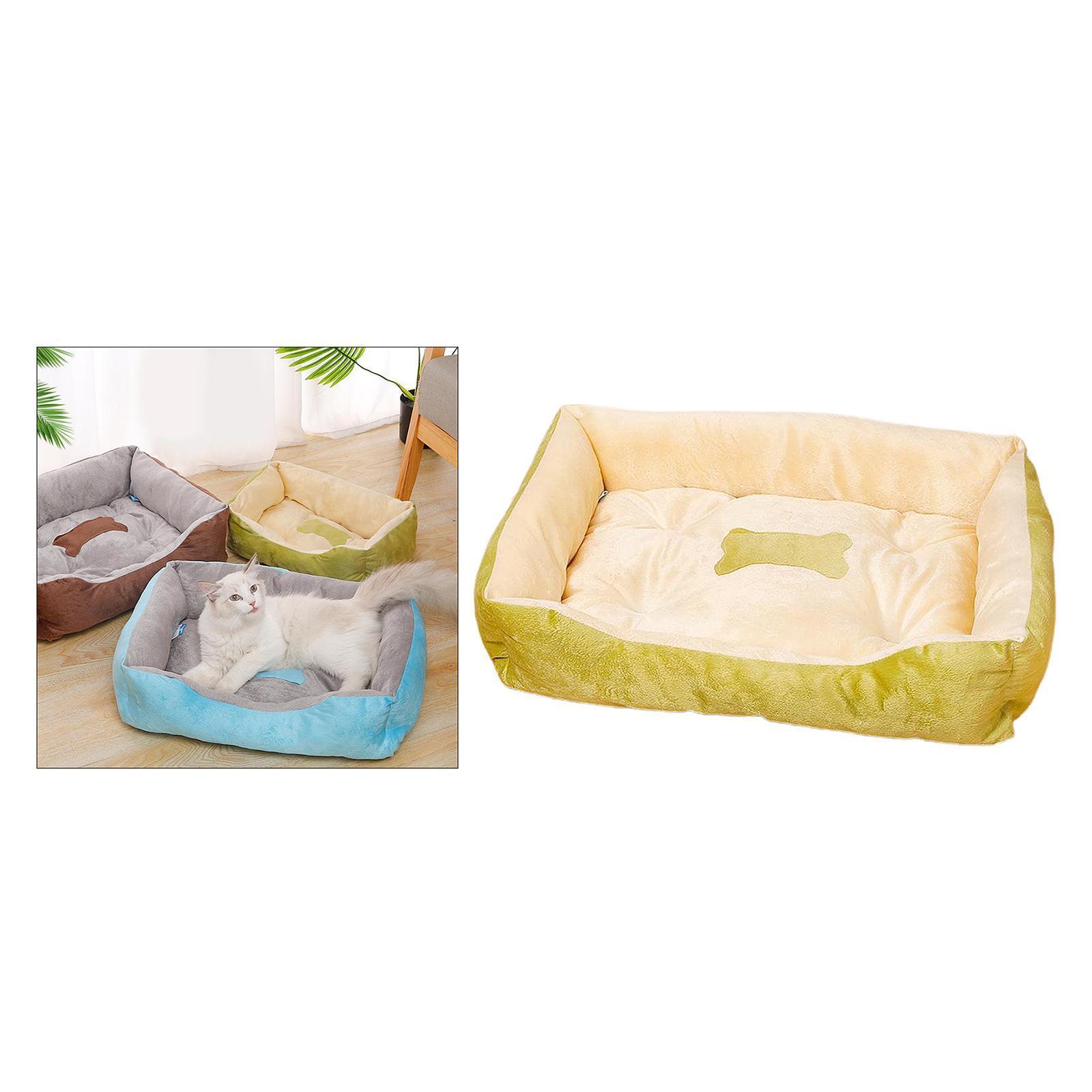 Indexbild 11 - Katze-Hund-Bett-Pet-Kissen-Betten-Haus-Schlaf-Soft-Warmen-Zwinger-Decke-Nest