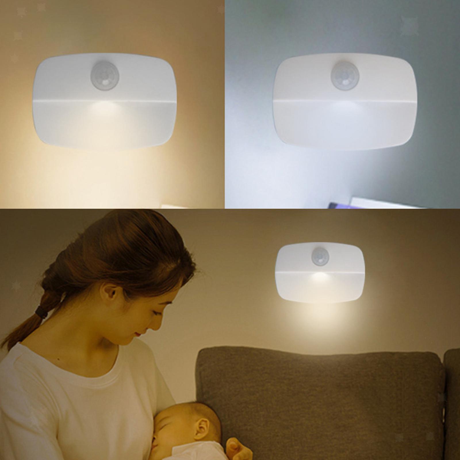 miniatura 4 - Lampada-da-parete-multifunzione-a-LED-con-sensore-di-movimento-Lampada-da-parete