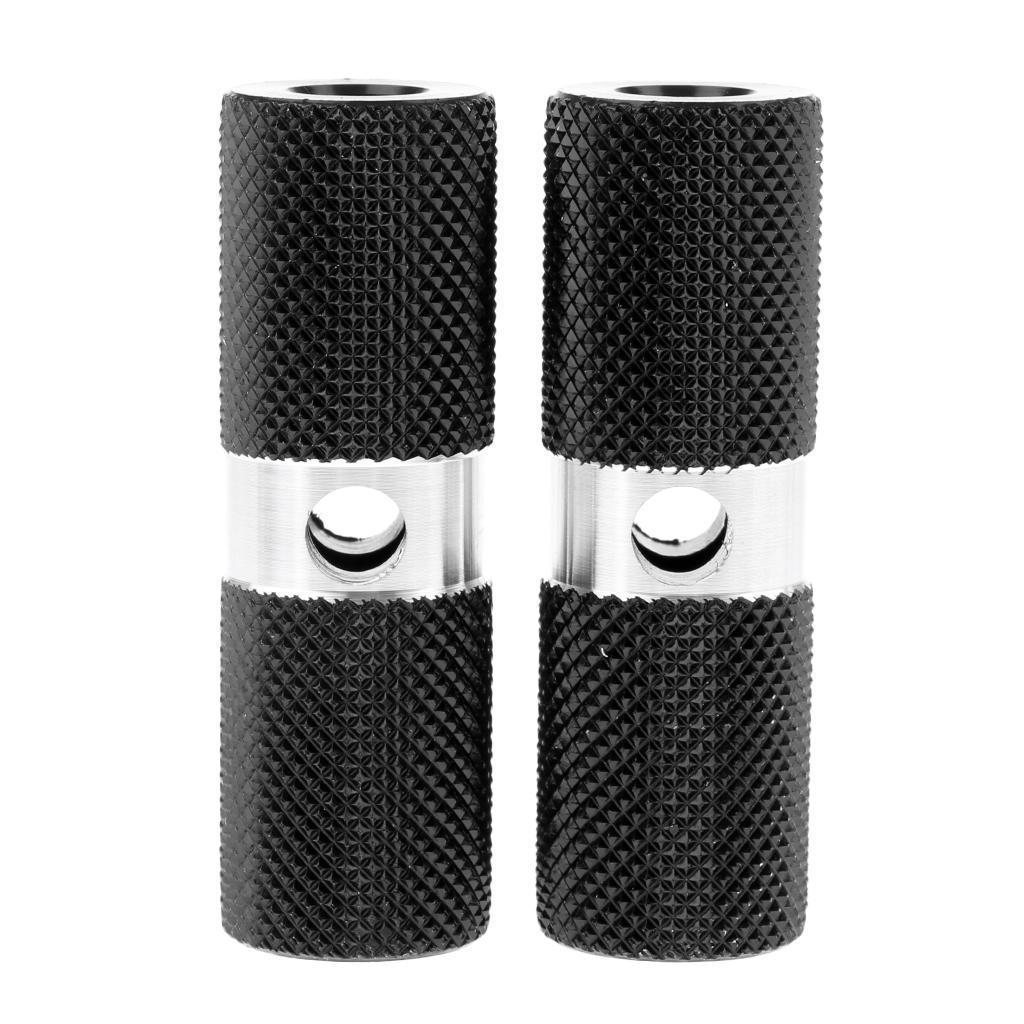 5 2Pcs Cylinder BMX 3//8 inch Axle Foot Stunt Pegs Bike Bicycle Accessories