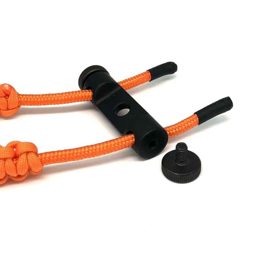 thumbnail 41 - Archery-Compound-Bow-Braided-Wrist-Sling-Strap-Hunting-Shooting-Accessories
