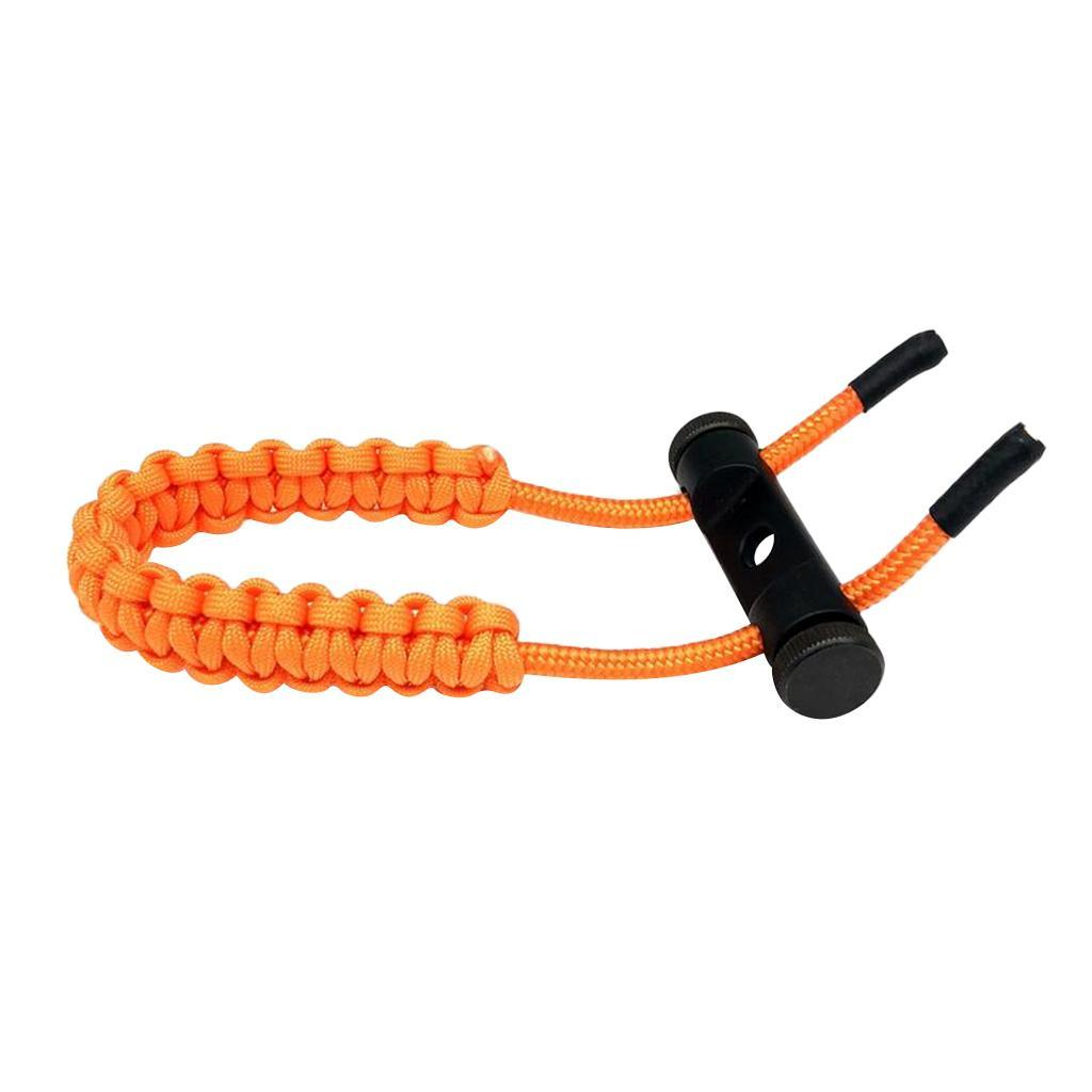 thumbnail 36 - Archery-Compound-Bow-Braided-Wrist-Sling-Strap-Hunting-Shooting-Accessories