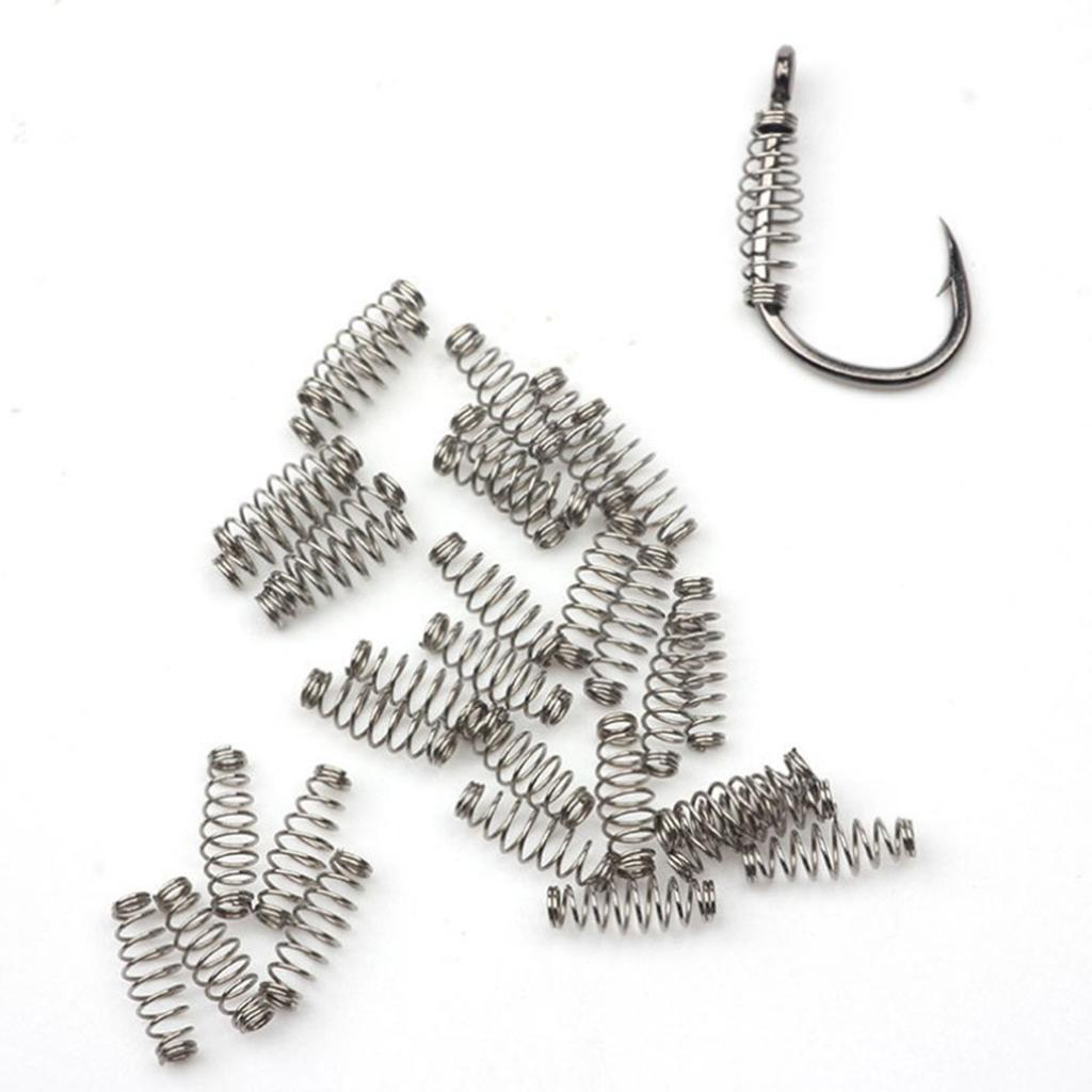 miniatura 4 - Amo-da-pesca-Amo-da-polpo-Amo-in-acciaio-inossidabile-set-da-100-pezzi