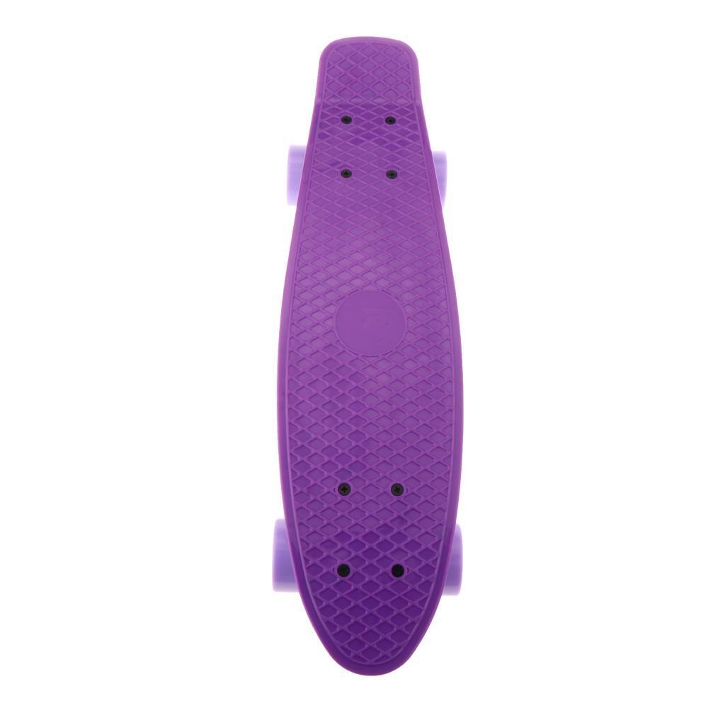 22-034-Cruiser-Skateboard-Longboard-Retro-Skateboard-per-bambini-Extreme-Sport miniatura 14