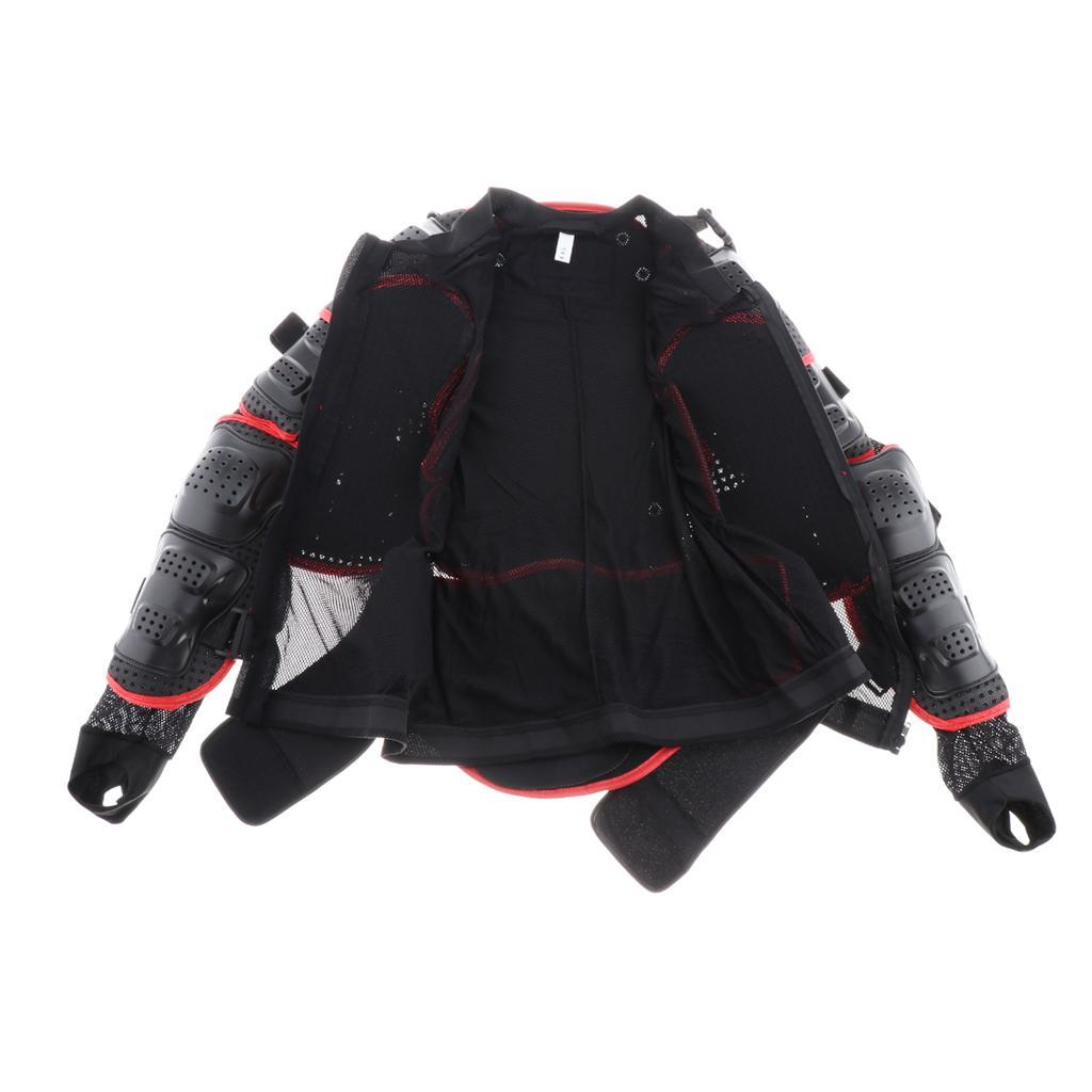 thumbnail 21 - Motorcycle-S-XXXL-Full-Body-Protection-Armor-Jacket-Racing-Spine-Chest-Gear