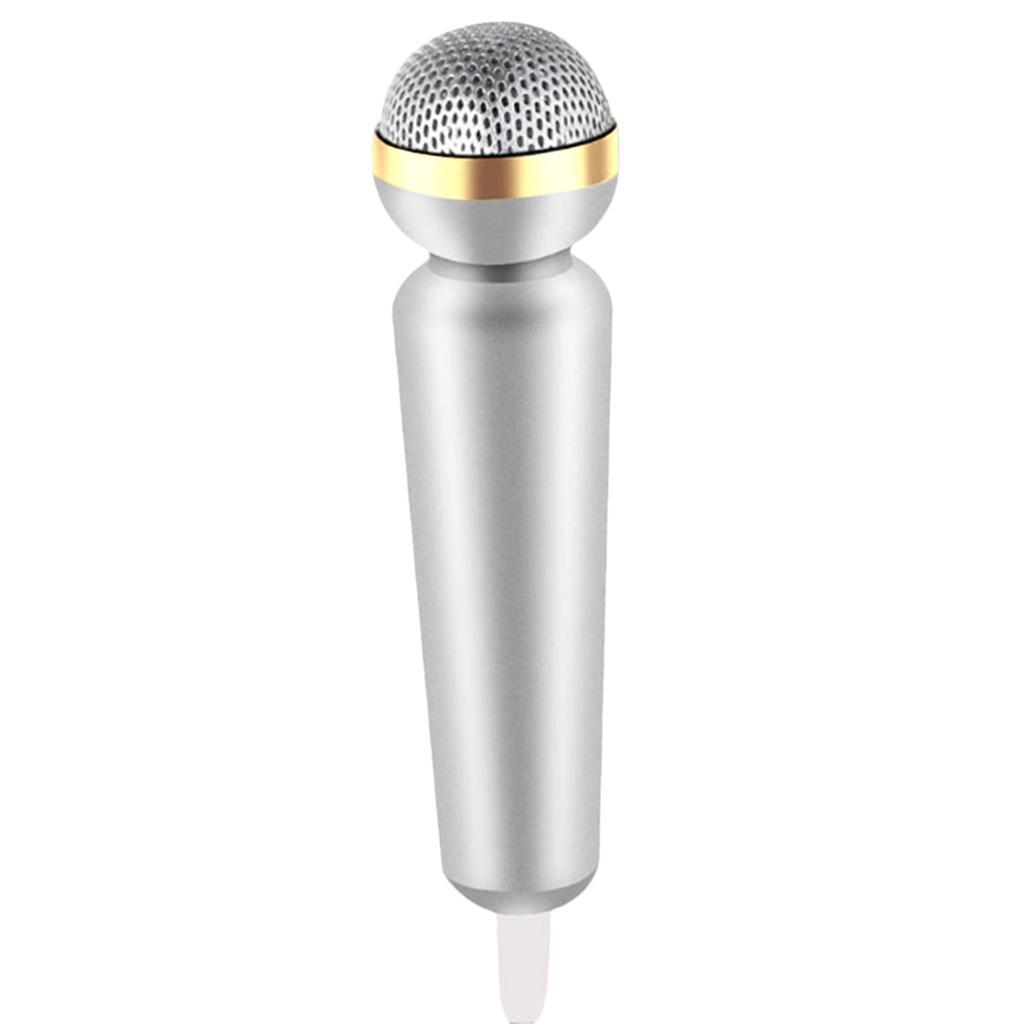 Mini-Microfono-Stereo-Mic-Per-Telefono-PC-Chattare-Cantando-Karaoke miniatura 4