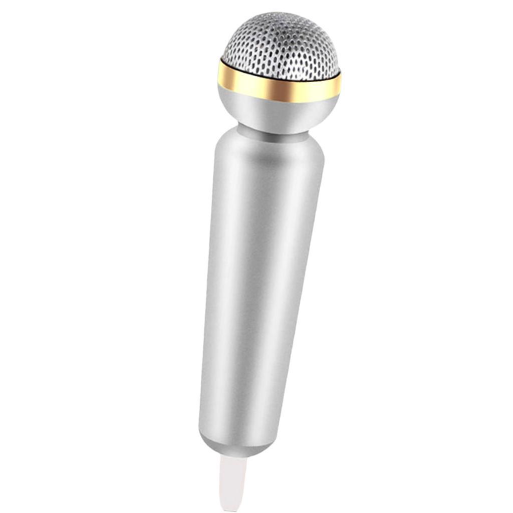 Mini-Microfono-Stereo-Mic-Per-Telefono-PC-Chattare-Cantando-Karaoke miniatura 3