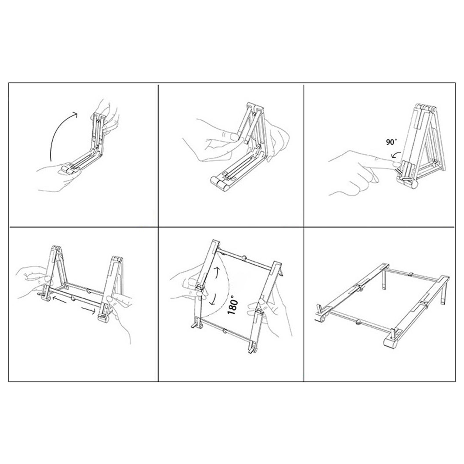 thumbnail 10 - 3 in1 Adjustable Laptop Stand Ergonomic Folding Hollow Radiating for Bracket