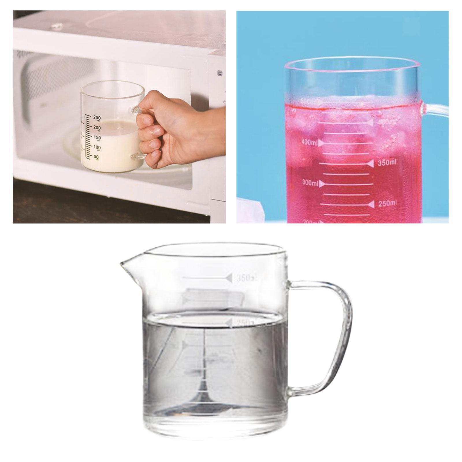 Misurino-in-vetro-borosilicato-con-intervalli-di-250-500ML-Accessori-da-cucina miniatura 19