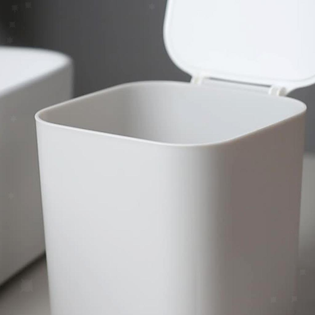 Cestino-della-spazzatura-del-bidone-della-spazzatura-di-plastica-4L-per-la miniatura 10
