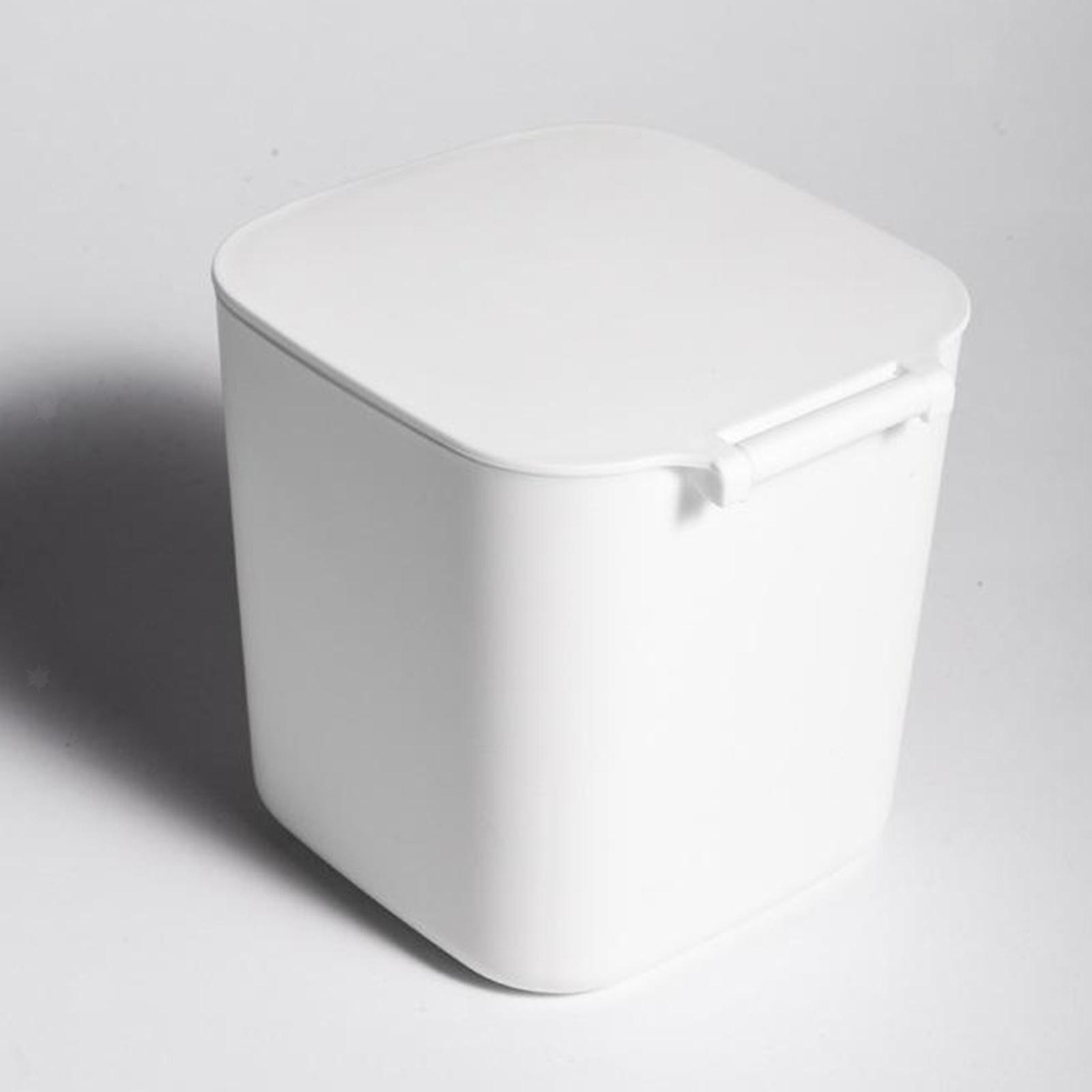 Cestino-della-spazzatura-del-bidone-della-spazzatura-di-plastica-4L-per-la miniatura 11