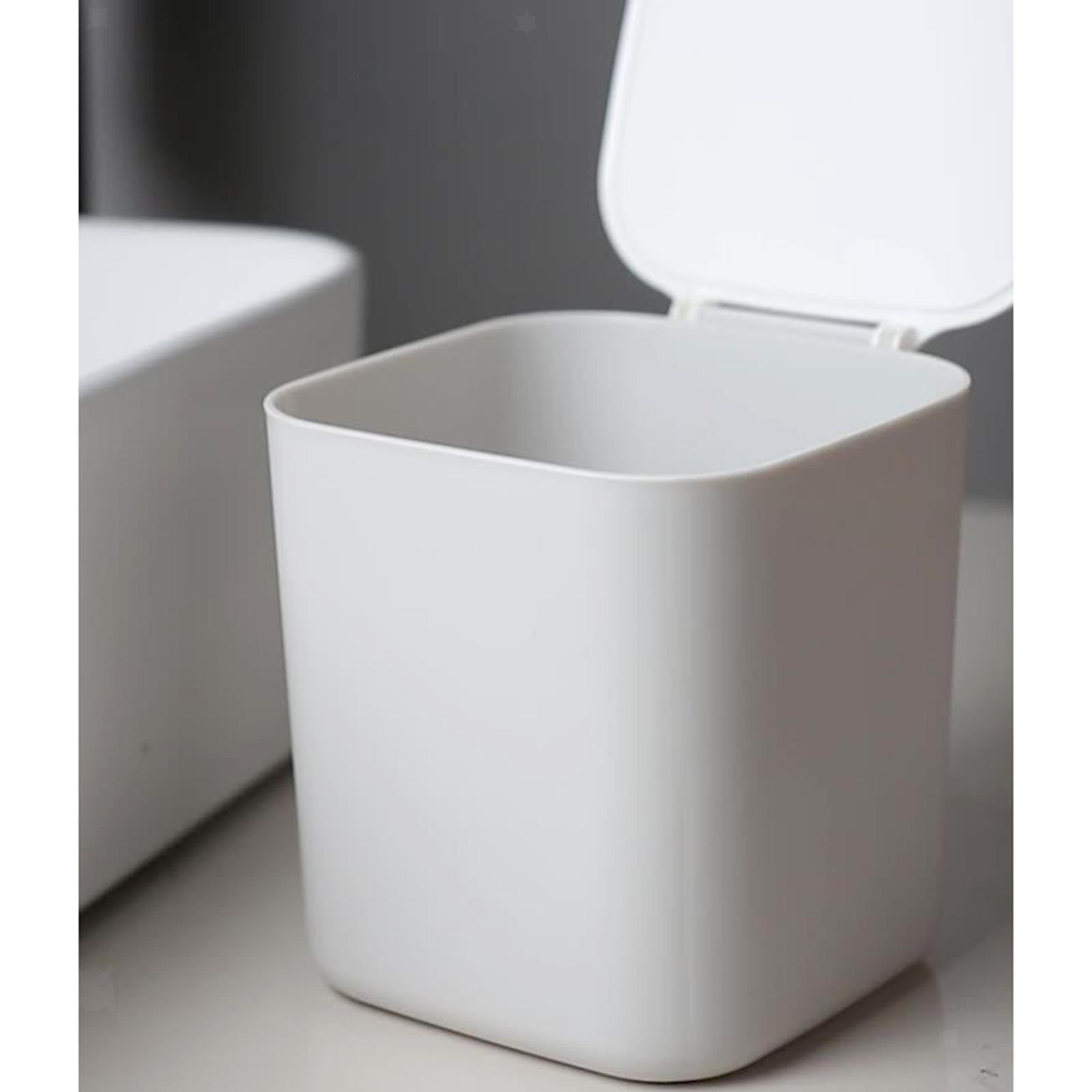 Cestino-della-spazzatura-del-bidone-della-spazzatura-di-plastica-4L-per-la miniatura 14