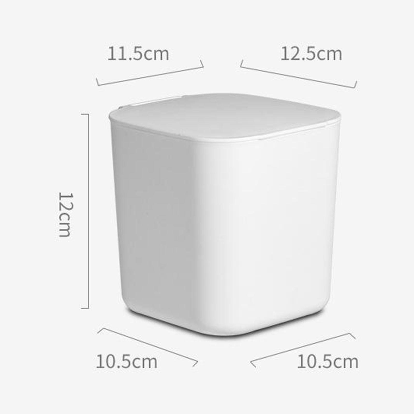 Cestino-della-spazzatura-del-bidone-della-spazzatura-di-plastica-4L-per-la miniatura 8