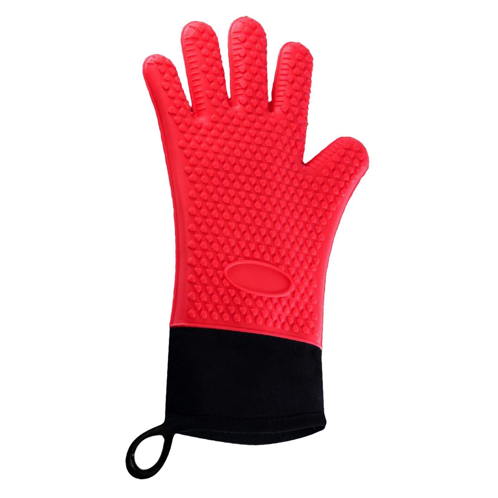 Guantes-para-horno-de-cocina-con-aislamiento-de-silicona-antideslizantes-guantes miniatura 13