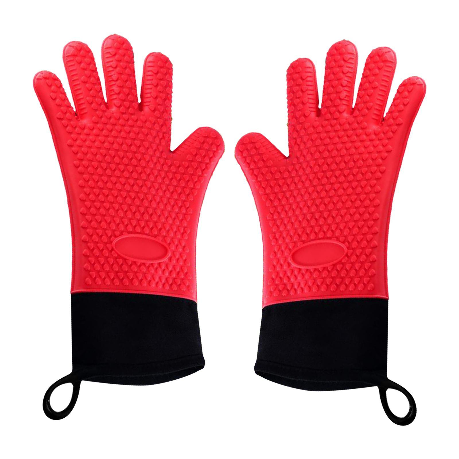 Guantes-para-horno-de-cocina-con-aislamiento-de-silicona-antideslizantes-guantes miniatura 12
