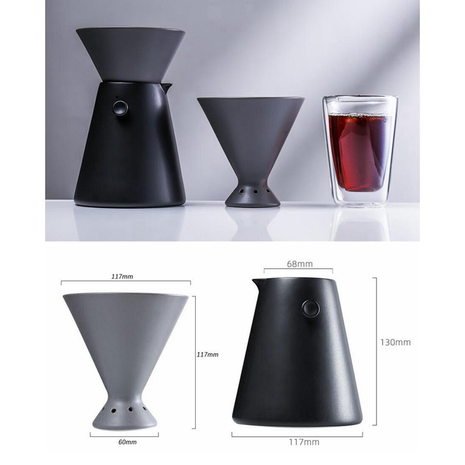 miniature 13 - Part-des-menages-Goutte-A-Goutte-Cafe-Verser-Sur-Cafe-Fabricant-Anti-goutte
