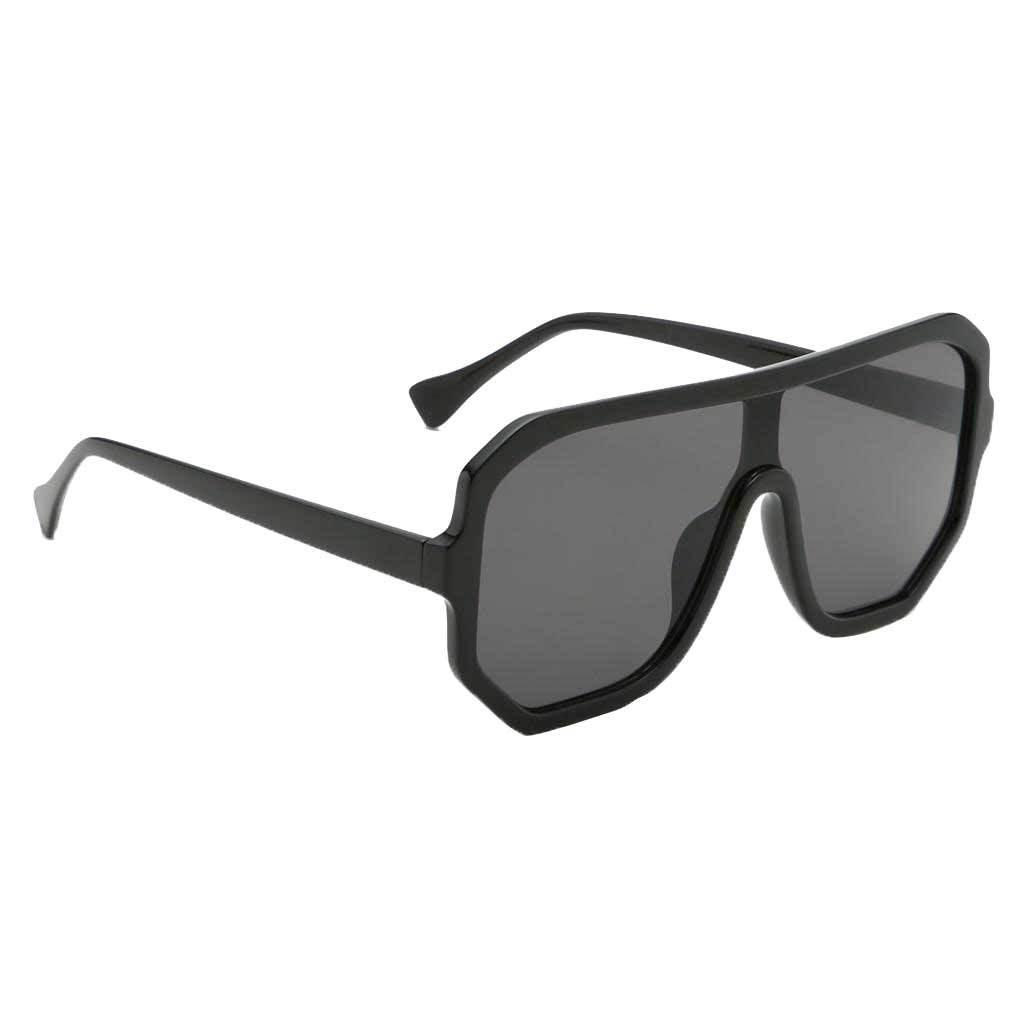 Frauen-Herren-Vintage-Style-Rechteck-Sonnenbrille-UV400-Flat-Top-Fashion Indexbild 8