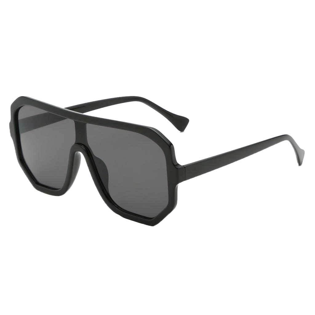 Frauen-Herren-Vintage-Style-Rechteck-Sonnenbrille-UV400-Flat-Top-Fashion Indexbild 9