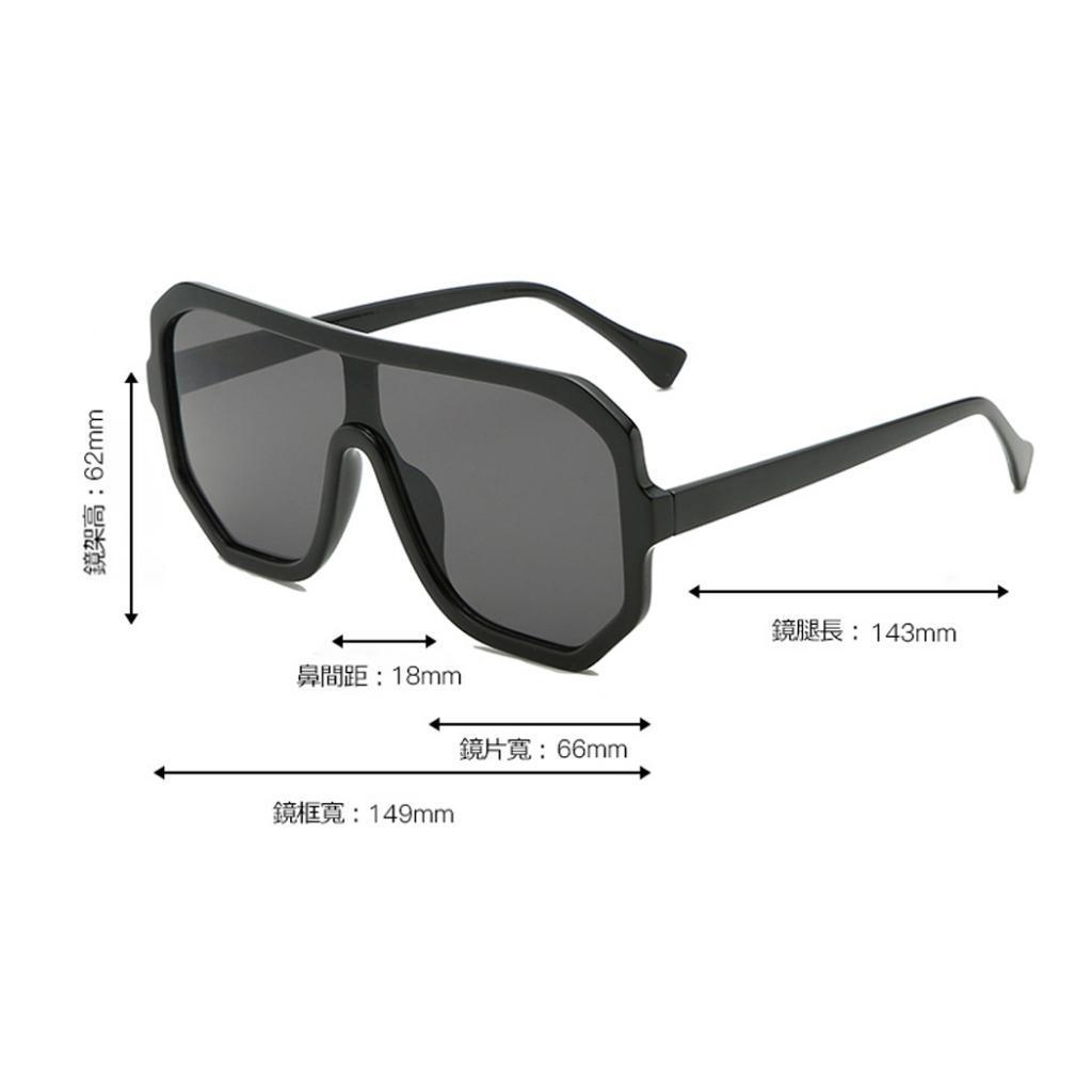 Frauen-Herren-Vintage-Style-Rechteck-Sonnenbrille-UV400-Flat-Top-Fashion Indexbild 11