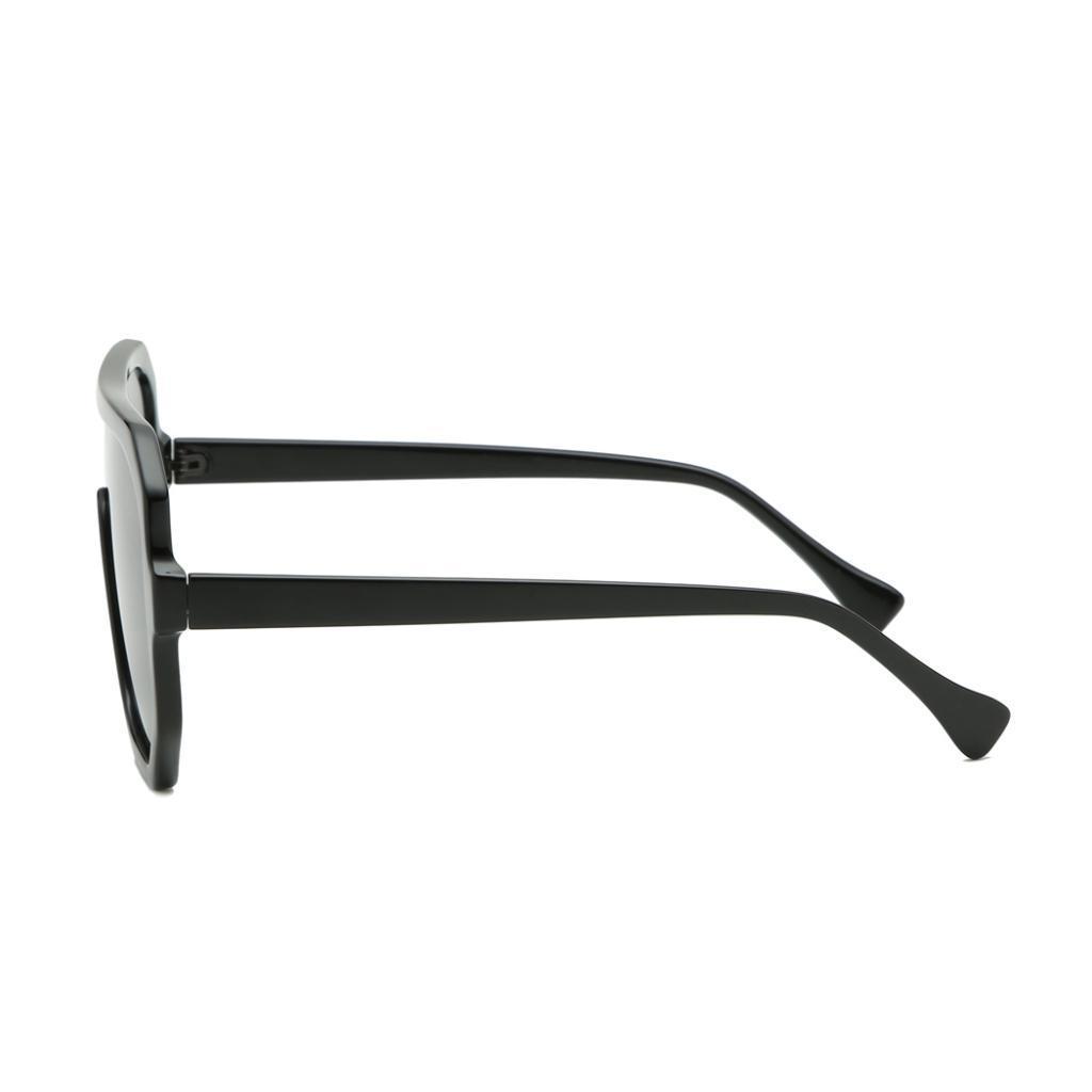 Frauen-Herren-Vintage-Style-Rechteck-Sonnenbrille-UV400-Flat-Top-Fashion Indexbild 12