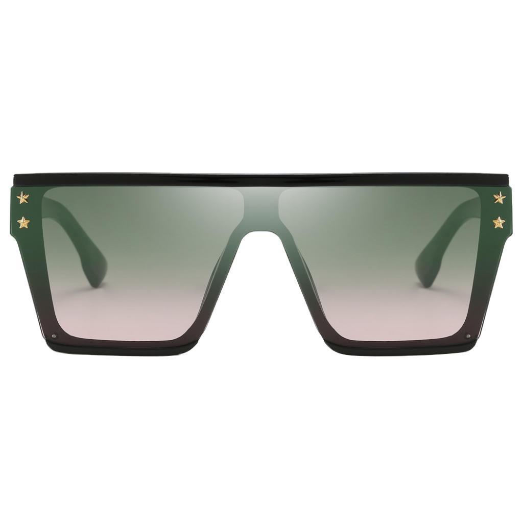 Square-Oversize-Sonnenbrillen-Fashion-Flat-Top-UV400-Sonnenbrille-fuer Indexbild 8