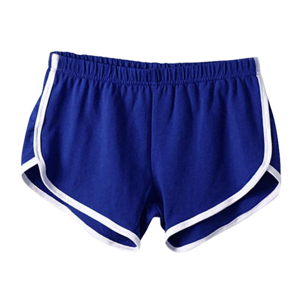 Shorts-de-sport-en-soie-de-lait-pour-femmes-Yoga-Dance-Pantalons-courts-Shorts miniature 14