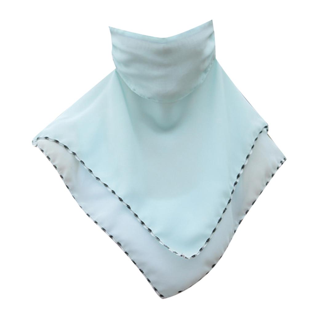 Femmes-demi-visage-masque-echarpe-bouche-couverture-exterieure-protection-UV miniature 18
