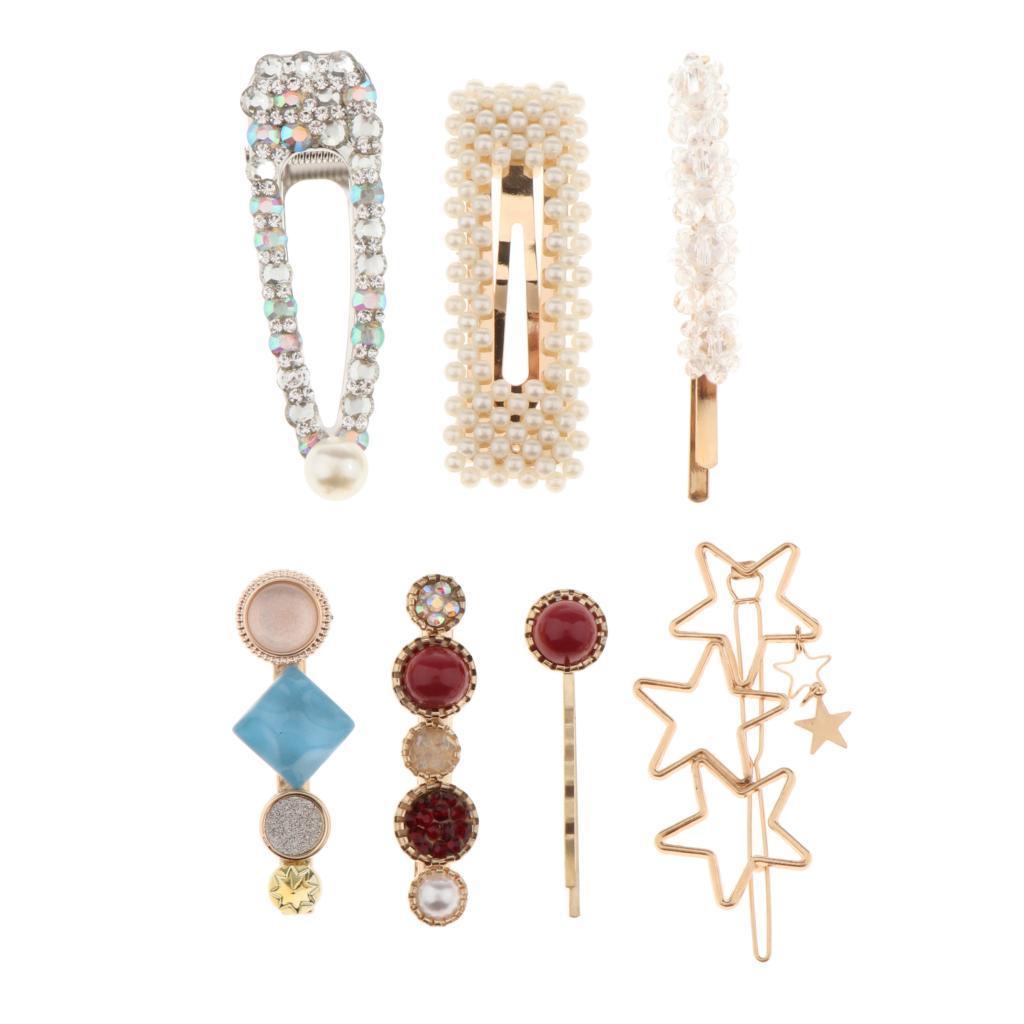 5pcs Perle Haarspange Haarspangen 2019 für Frauen Haarnadeln Zubehör Mode