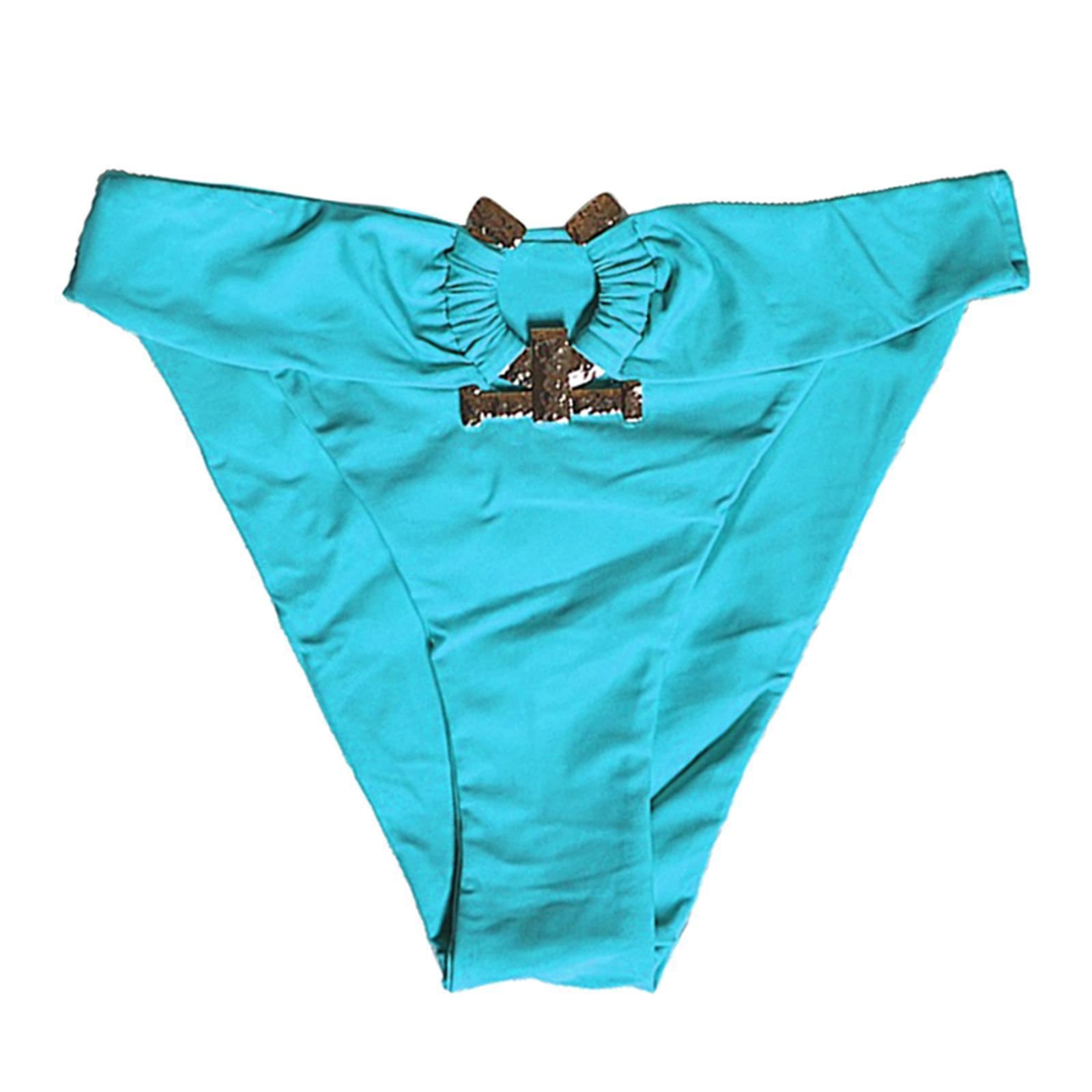 Indexbild 126 - Zwei Stücke Bikini Set Strappy Bademode Party Badeanzug Tankini Bademode