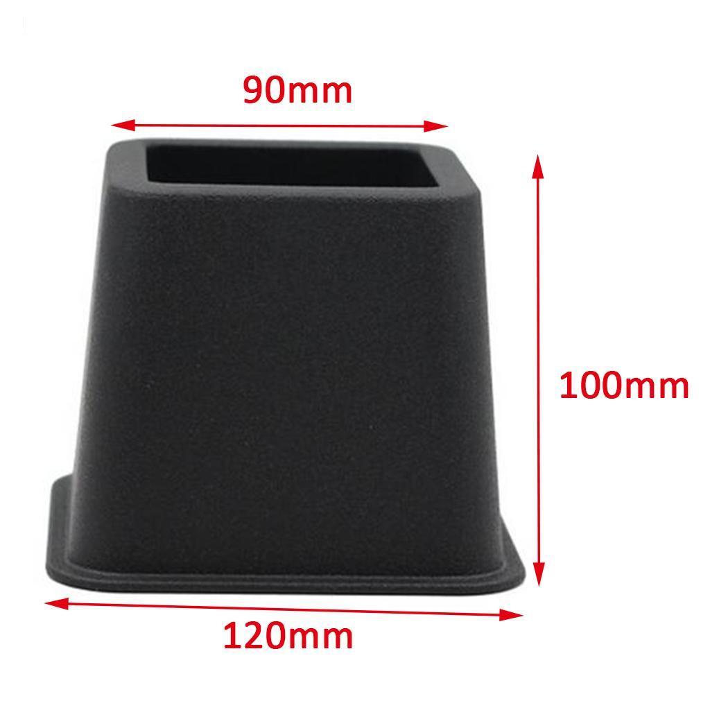 4x-Riser-da-Letto-Sollevatore-Regolabile-per-Mobili-con-4-Gambe-Disegno-Modulare miniatura 6