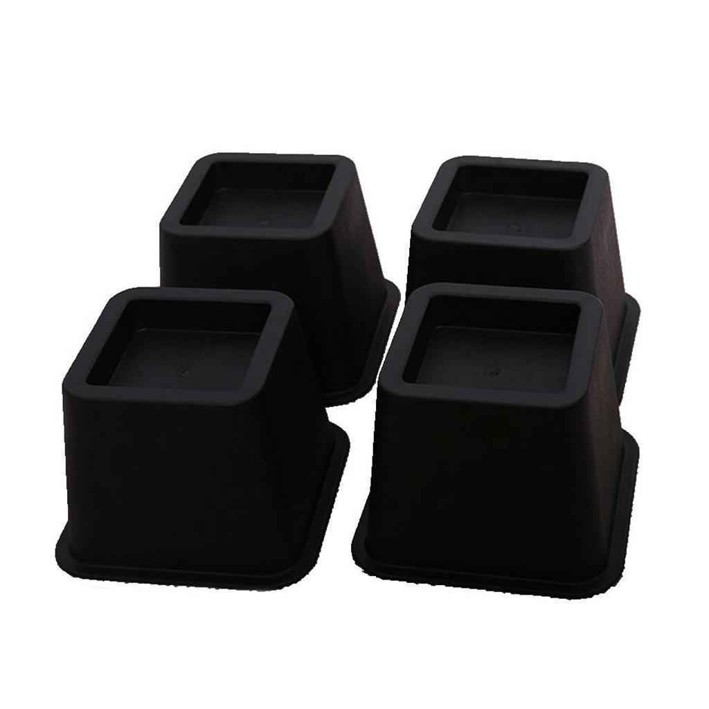 4x-Riser-da-Letto-Sollevatore-Regolabile-per-Mobili-con-4-Gambe-Disegno-Modulare miniatura 7