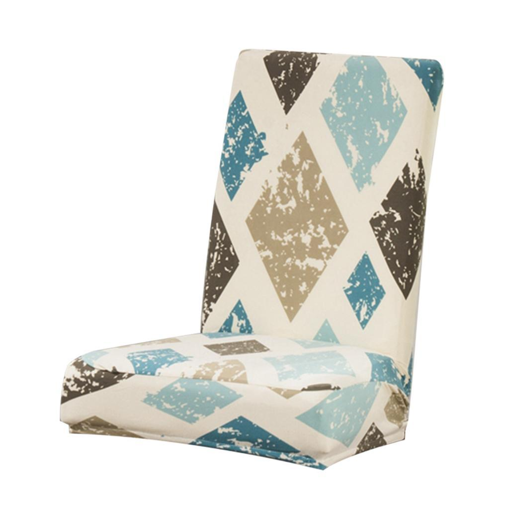 Stretchy Elastic Short Dining Chair Cover Slipcover ...