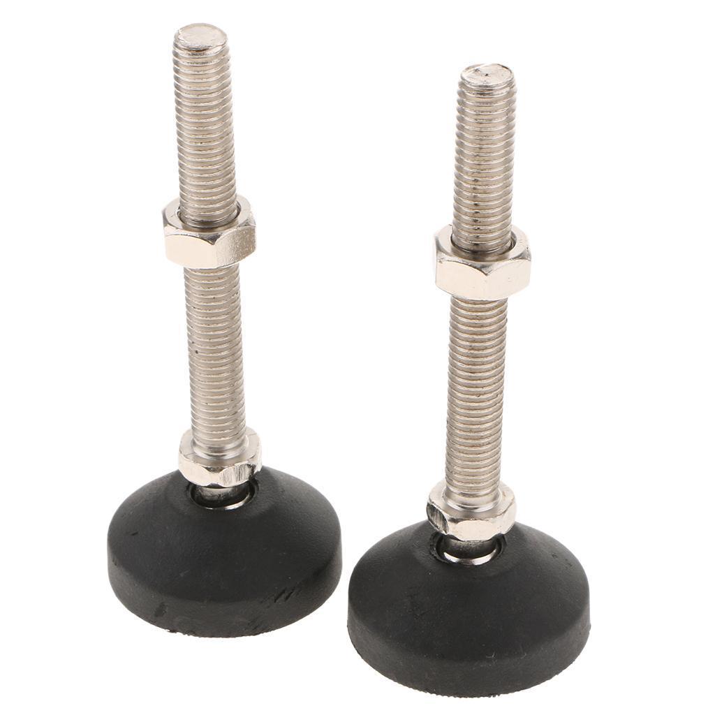 Details about 8pcs Furniture Glides Table Leveling Feet Leg Adjustable  Levelers M8/18/8
